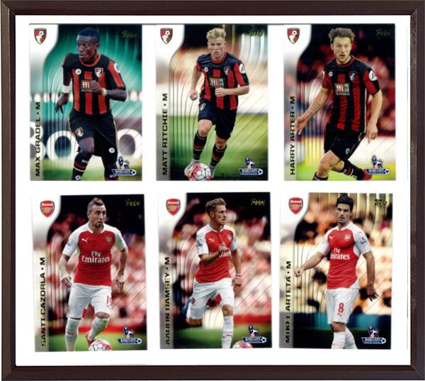 Topps2015-16英超大全套球星卡