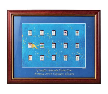 2008年北京奥运会大洋洲官方礼品徽章