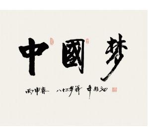 年維泗書法《中國夢》
