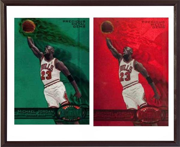 23張頂級喬丹籃球卡