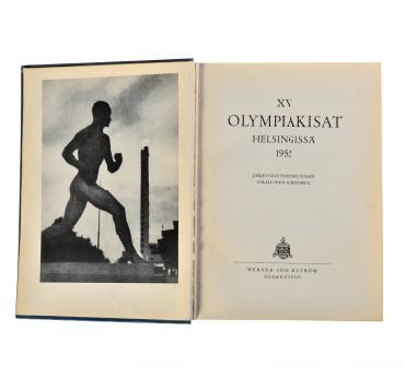 1952年赫尔辛基奥运会总结报告书 (芬兰语)